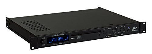 JB Systems USB 3.1 Media Player mit CD-Player, Radio, USB Stick und SD Karten