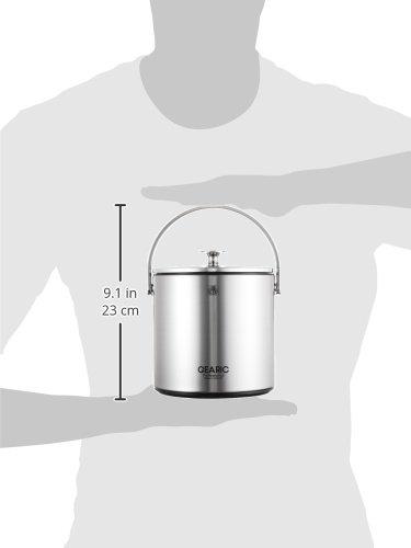 ピーコックアイスペールブラック1.6LIBS-A160B