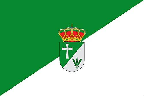 magFlags Bandera Large Ibahernando, Cáceres, España | Bandera Paisaje | 1.35m² | 90x150cm