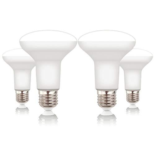 Volton - Pack 4 Bombillas Reflectoras R90 LED E27 15W 1350Lm 3000K Angulo 120º, no Regulable