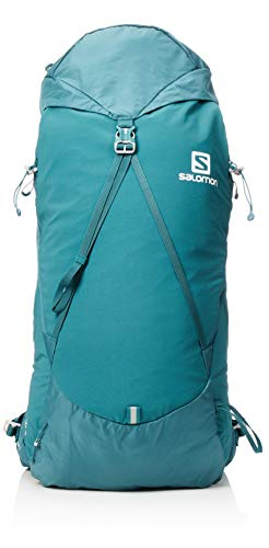 Salomon out Night 30+5 Mochila, Capacidad 35 L, Unisex Adulto, Azul (Mediterranea), M/L