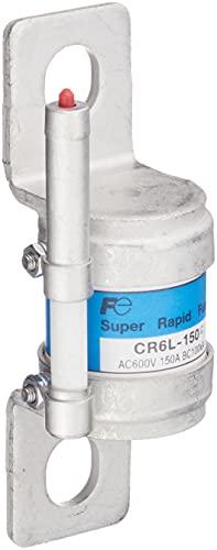 富士電機 スーパーラピッドヒューズ 小形丸筒タイプ600V 溶断表示ヒューズ付 150A CR6L-150G