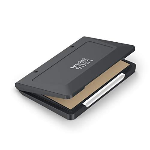 Tampón de Tinta Trodat 9051 para Sellos Entintado Manual, 90 x 50 mm, Sin Entintar