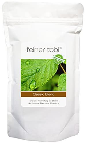 feiner tobi   Classic Blend   Gleichmäßig feinblättrige Kräuterteemischung   Königskerze, Eibisch, Himbeerblätter