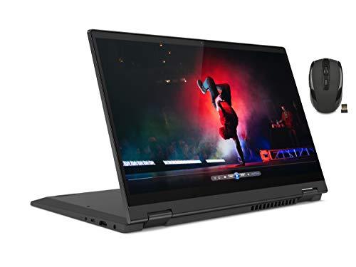 Lenovo Flex 14' FHD 2-in-1 IPS Touchscreen Laptop | AMD Ryzen 3 4300U | 4GB RAM | 256GB SSD | Integrated AMD Radeon Graphics | Grey | Windows 10 in S Mode | with Woov Wireless Mouse Bundle