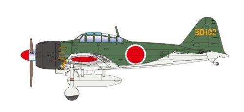 Cincuenta y dos de tipo Hei # 302 Naval Air Squadron No.04 Zero Fighter 1/72 Zero serie Fighter (Pintado) (Jap?n importaci?n / El paquete y el manual est?n escritos en japon?s)