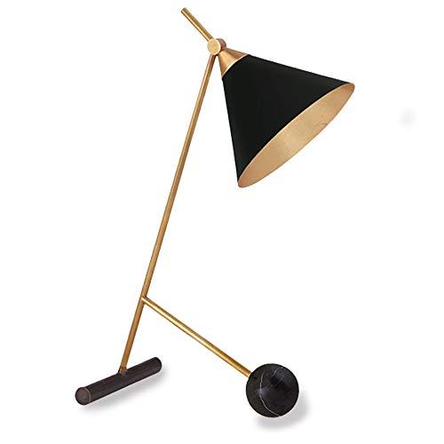ZXC Lámpara de Mesa Sencilla Moderna, lámpara de Escritorio de Cuerno de Embudo, Sala de Estudio, Sala de Estar, lámpara de Noche de Dormitorio, lámpara de Mesa Decorativa