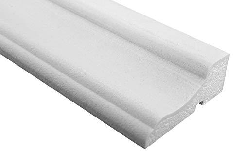 Preisvergleich Produktbild 2 Meter / Fassade / Profile mit Ausprägung / EPS / PU / stoßfest / 45x120mm / MC156