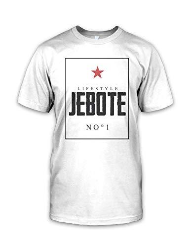net-shirts Balkan Apparel - Jebote Lifestyle T-Shirt, Größe M, Weiß