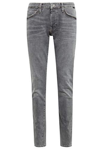 Mavi Herren YVES Skinny Jeans, Grau (Smart Grey Comfort 30478), W30/L34 (Herstellergröße: 30/34)