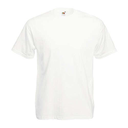 Fruit of the Loom - Classic T-Shirt 'Value Weight' L,White