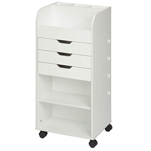 3-Drawer Craft Storage Cart CRT-06345
