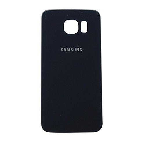 Ilovemyphone Tapa Bateria para Samsung Galaxy S6 G920F Color Negra Bateria Back Cover Trasera