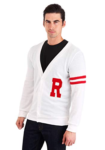 Grease Rydell High Men's Sweater Costume X-Large White