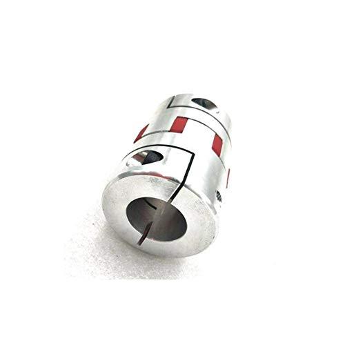 TONGTAIRUI-LIGHTS Yayatong Acoplador de 1pc para Acoplamiento de Eje de Acoplamiento de Acoplamiento de araña de araña de la Plancha de la Plancha CNC con un Keyway 5mm en un Extremo