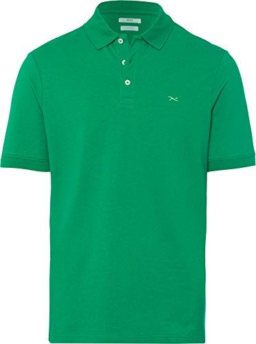 BRAX Herren Regular Fit Poloshirt, Grün (Frog 36), X-Large