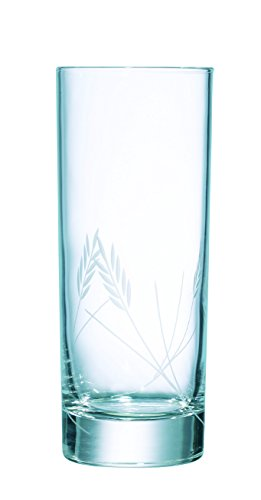 Luminarc - verres Forme Haute Gerbe Lot de 3 , Transparent