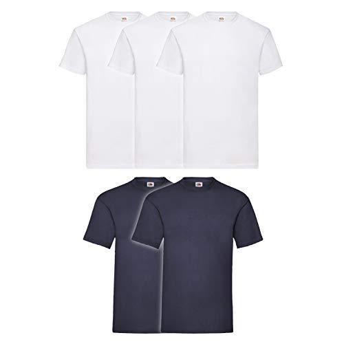 Fruit - Sweat-shirt - Homme 3 Pezzi Bianco 2 Blu Navy