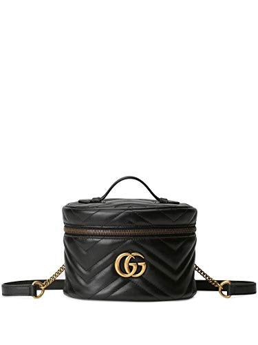 Luxury Fashion | Gucci Dames 598594DTDCT1000 Zwart Leer Rugzak | Lente-zomer 20