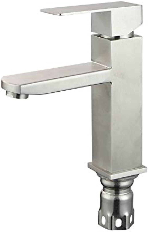 Wasserhahn Edelstahl 304 Heies Und Kaltes Wasser Wasserhahn Waschbecken Wasserhahn Waschbecken Wasserhahn