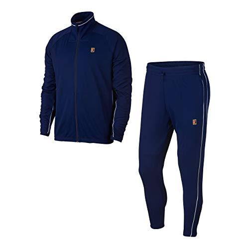 Nike M NKCT ESSNTL Warm UP Survêtement pour Homme Multicolore (Blue Void/White/White)