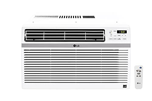 LG 24,500 BTU 230V Window-Mounted Air Conditioner with...