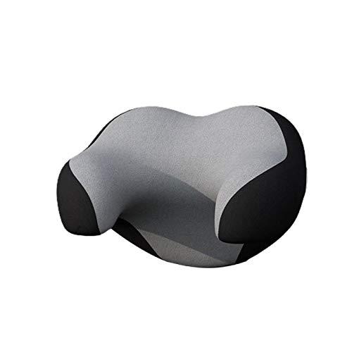 HUANGDANSEN Gaming Pillowcar Almohada en Forma de U, Reposacabezas Ajustable, Reposacabezas de Espuma viscoelástica 3D, Almohada para el Cuello del Coche