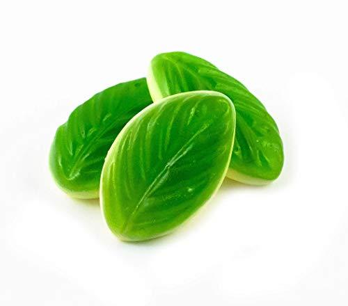 Burmar - Beauty's Hojas de Menta   Gominolas Funcionales con Colageno, Coenzima Q10 Té Verde y Té Blanco - Chucherias Y Gominolas Saludables sin Gluten y sin Lactosa - 12 bolsas de gominolas de 75 g