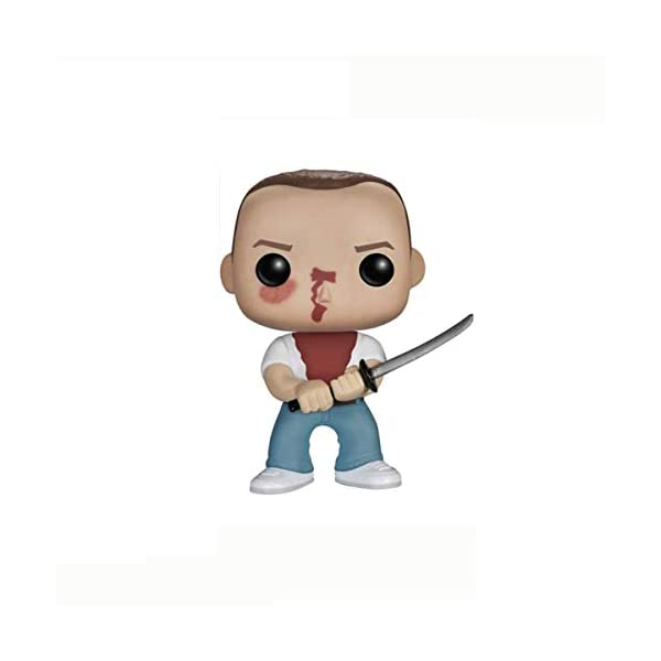 POIJK Bobblehead Figures POP película: Pulp Fiction-julios/vega/Jimmy/Butch decoración del coche (color: B) 1
