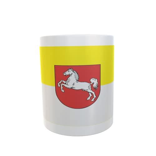 U24 Tasse Kaffeebecher Mug Cup Flagge Hannover 1952