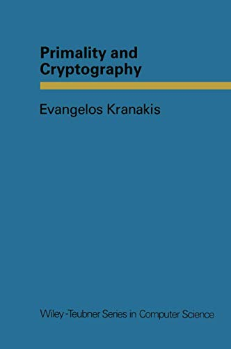 Primality and Cryptography (Series in Computer Science)