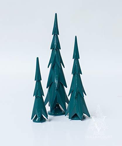 Wendt und Kühn 3 Tannen sortiert Drei Tannenbäume, Tannenbaumgruppe, Original Wendt & Kühn Kunsthandwerk aus dem Erzgebirge 5302/3-5