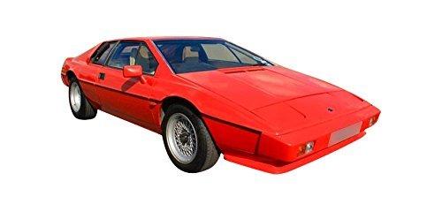 Representative 1987 Esprit shown. Lotus