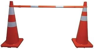 Telescoping Cone Bar, Orange, 60-108 In L