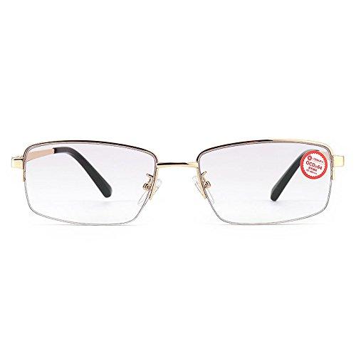 Bluelover Braodison Anti Blue Ray Presbyopisch outdoor hars fotochroom lens leesbril
