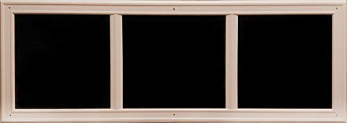 Coach House Accents Heritage Décor Simulated Garage Door Window (2 Windows per kit) (Sandstone)