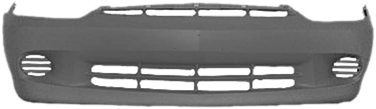 OE Replacement Chevrolet Cavalier Front Bumper Cover (Partslink Number GM1000662)
