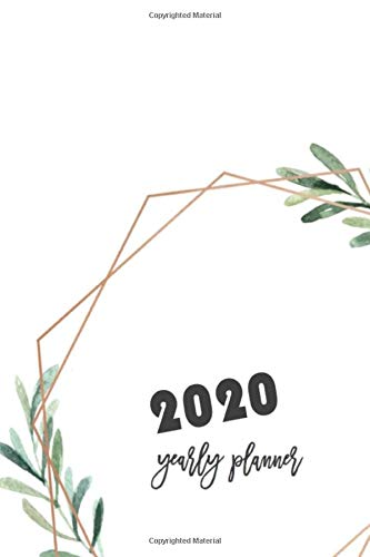 2020 New Years, Are you ready for a successful new year? Monthly Notebook, Book, Planner, Organizer, Calendar To Organize Your Monthly And Yearly Agenda, 6