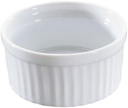 Preisvergleich für Küchenprofi 0754048209 Ragoutschälchen Classic Burgund 9 cm Porzellan weiß