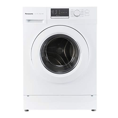 Panasonic 8 kg Fully-Automatic Front Loading Washing Machine (NA-128XB1W01, White, Inbuilt Heater)