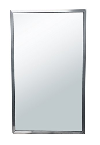 Brey-Krause Commercial Restroom Mirror - 24 inches Wide by 30 inches Tall