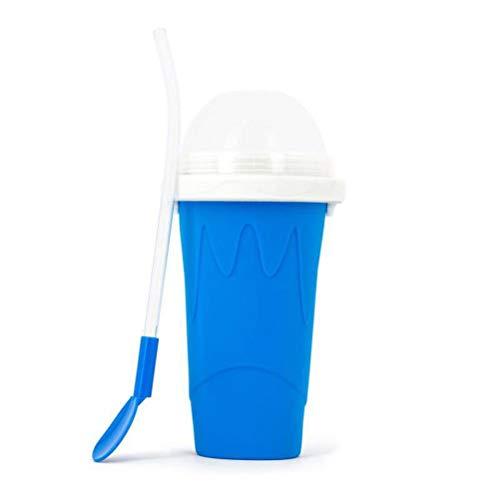 BSTQC Vaso para bebidas, helados de viaje, para bebidas caseras, congelador, enfriador de verano, para hacer batidos para niños