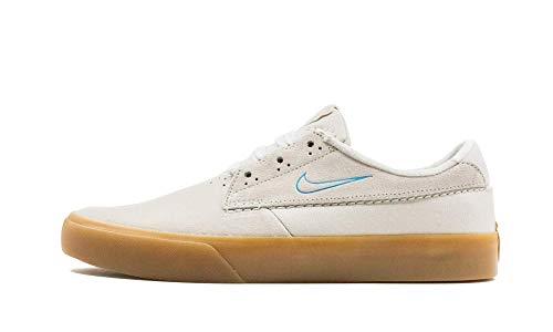 Nike Sb Shane - Zapatillas de skate para hombre, (Blanco/Blanco/Gum marrón claro/La), 46 EU
