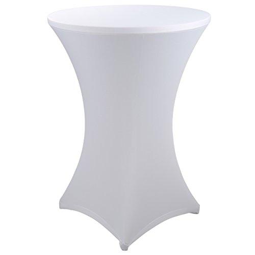 Tischdecken-Textilien -  Stehtischhusse