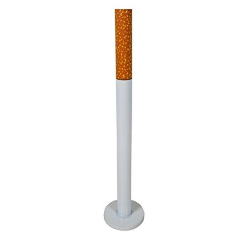 Emanhu Trading Standaschenbecher mit Fuß oder Erdspieß Standascher Aschenbecher Zigaretten (Standfuß)