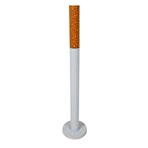 Standaschenbecher mit Fuß oder Erdspieß Standascher Aschenbecher Zigaretten (Standfuß)
