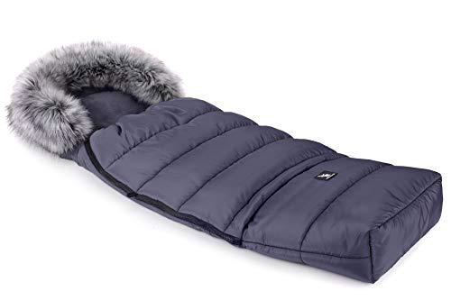 Cottonmoose Combi Yukon Fur Saco de invierno dormir térmico para carrito silla...