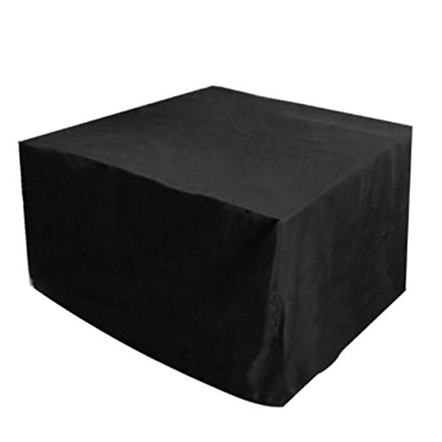 Uniqueheart 210D Oxford Muebles Cubierta a Prueba de Polvo para Mesa de ratán Cubo Silla Sofá Impermeable Rain Garden Patio Exterior Funda Protectora