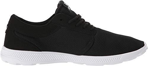 Supra Unisex-Erwachsene Hammer Run Sneaker, Schwarz (Black/White-White 009), 46 EU