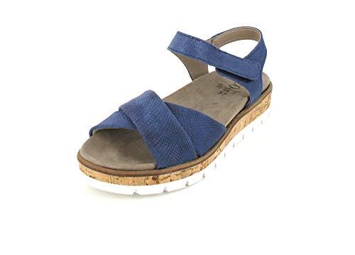 ACO Damen Sandale in Blau, Größe 36